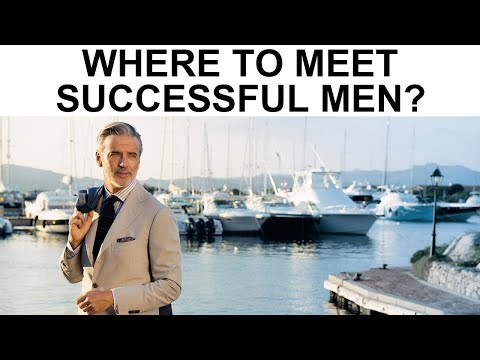 Where to Meet Successful Men (The 3 BEST places to get approached!)