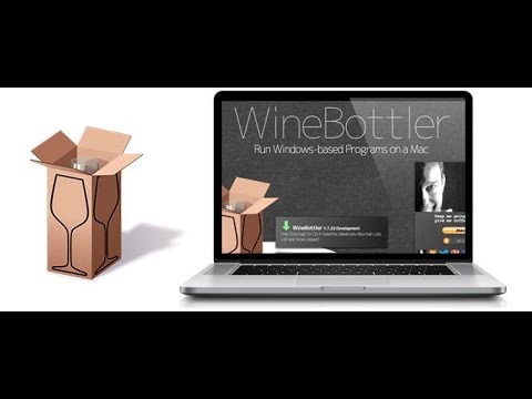 Tutorial ~ WineBottler ~ How To Use Window Programs on Mac!