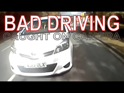 Bad Driving Compilation Caught On Dash Camera! UK Drivers! #6