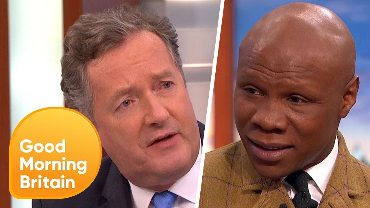 Download Piers Morgan and Chris Eubank Passionately Defend Boxing After Calls to Ban the Sport!   GMB MP3 Gratis
