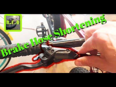 How to Shorten Hydraulic Brake Hoses