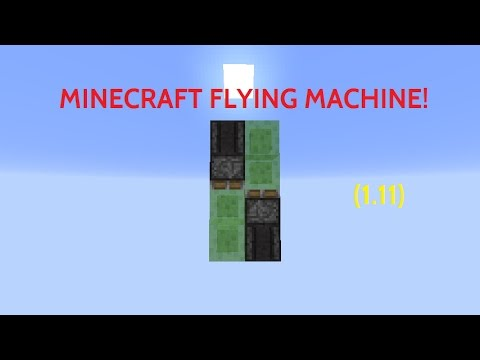 [NEW] 1.11 MINECRAFT FLYING MACHINE! (SUPER EASY & SIMPLE!)