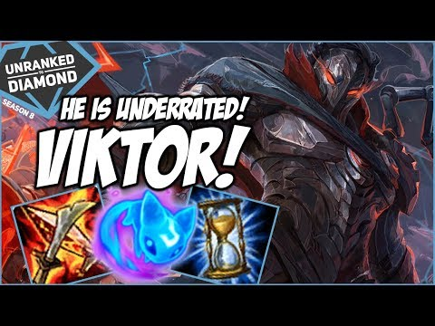 VIKTOR IS UNDERRATED! - Unranked to Diamond - Ep. 147 | League of Legends