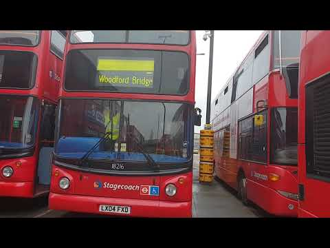 Blind changes at West Ham bus garage