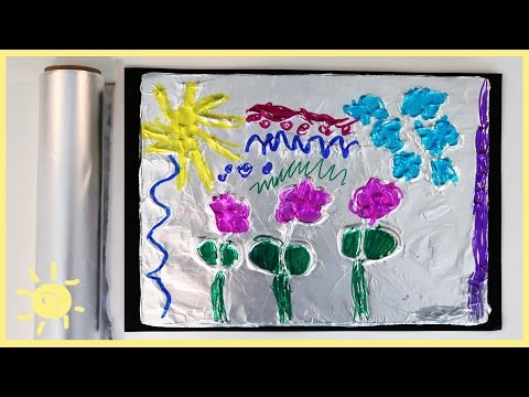 PLAY | Aluminum Foil 3D Drawings!