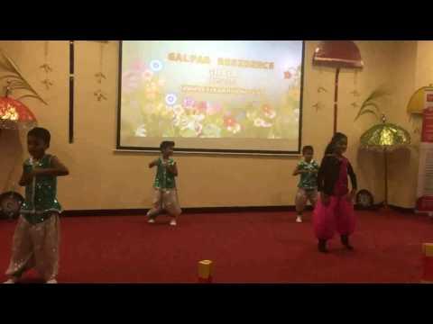 Kids freestyle dance