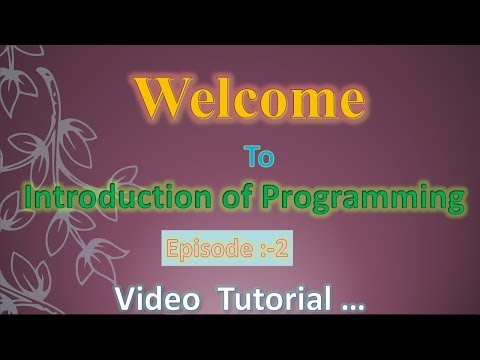 Introduction of  Programming Part : 2 || Translators Program and the Types of Programming Languages