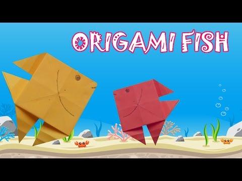 Origami Fish Tutorial - Origami Easy