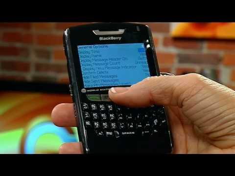 Hiding Sent Items - Blackberry Tips