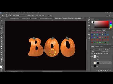 Pumpkin Photoshop Text Effect Fall & Halloween
