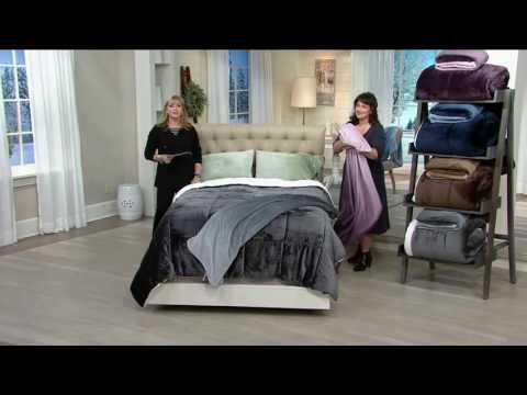 London Fog Supreme Velvet Comforter with 50