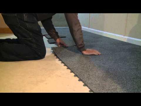 100% Waterproof Carpet for their Finished Basement Floor in Wisconsin | Customer Testimonial