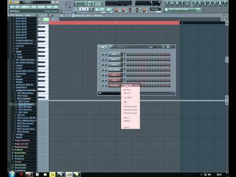 Barto - FL Studio - Beginners Reggae Tutorial - Part 3/3 - The Bass