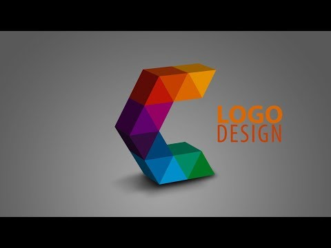 Illustrator & Photoshop Tutorial   3d Logo Design   creative