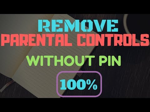 How to TURN OFF Parental Controls WITHOUT pin || 100% WORKING