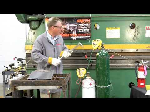 Propane & Oxygen Torch Cutting Instructional Video