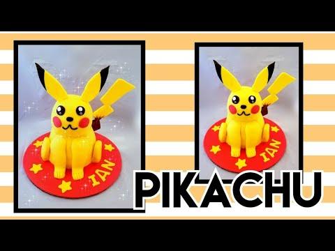 Pikachu cake /pastel de pikachu🙄🙄😄