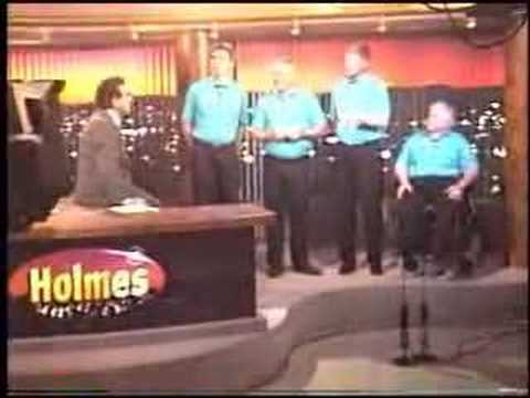 GCC Chorus Quartet on NZTV Holmes Show August 1996