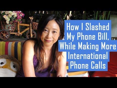 How I Slashed My Phone Bill, While Making More International Phone Calls