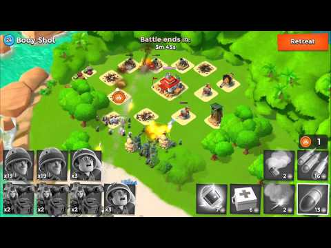 Boom Beach Battles: IUTA vs Body Shot - Boom Beach