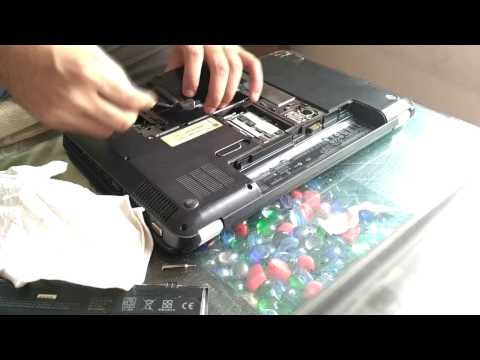 How to clean hp laptop fan pavilion g6 ;Striping ,Cleaning,Disassembly and fan cleaning