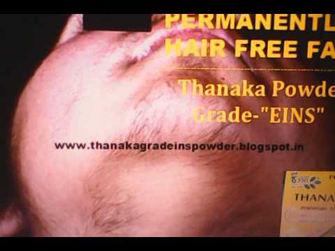 Thanaka Powder Grade GROZ Results in 7 Days Kusumba Oil Permanent Hair Removal Price Review laser