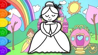 Fairy Drawing And Coloring Pages For Kids Gambar Peri Dan Halaman