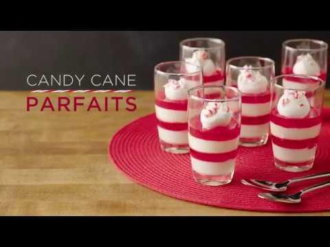 Candy Cane Parfaits