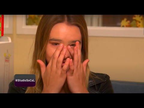 Brave Amazing Girl Surprises Sick Children in Hospital ICU