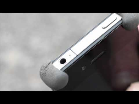 make your iPhone 4S bouncy with Sugru