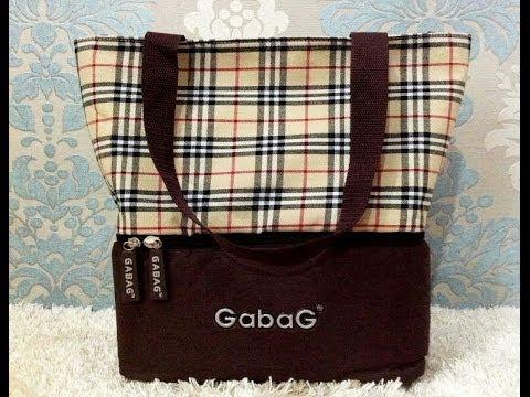 Cooler Bag ASI Gabag Baby Burberry
