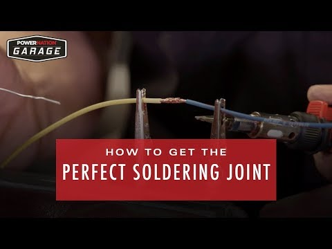 How To Get The Perfect Soldering Joint