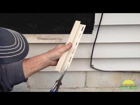 Installing  Deck Ledger on Vinyl Siding