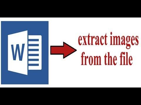extract or export images from word document / word document থেকে ছবিগুলো আলাদা করবেন কিভাবে