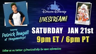 Drunk Disney The Fox & The Hound LIVE! Featuring Patrick Dougall
