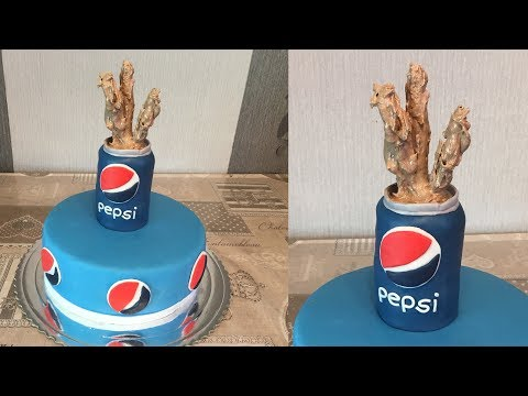 Pepsi Cake - How to do Pepsi can cake