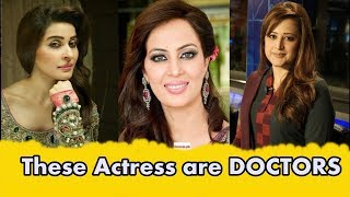 Pakistani Celebrities Who are DOCTORS in Real Life.