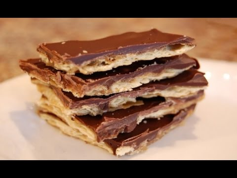 Saltine toffee bark recipe