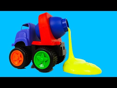 Slime Cement Mixer Truck Construction Toys Noise Putty