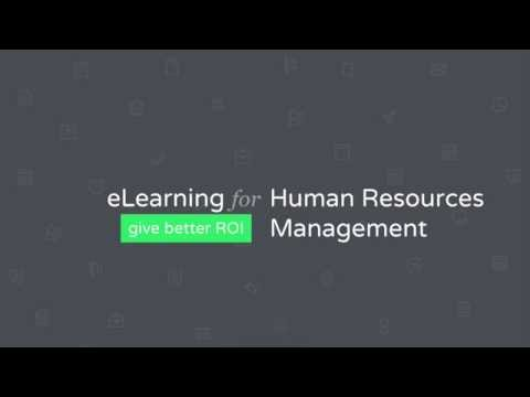 eLearning for Human Resources Management