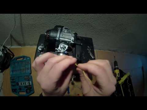 Moto mini of children ♥ How to clean carburetor in your Pocketbike in less then 5 minutes