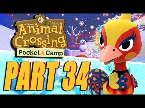NEW ANIMALS! Animal Crossing Pocket Camp Gameplay Part 34