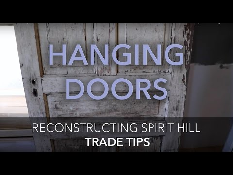 How to BUILD A DOOR FRAME to Hang or Install Old or Antique Doors - Trade Tips