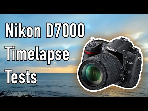 D7000 Time-lapse Tests