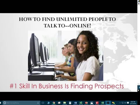 (Webinar) How To Find Unlimited People To Talk To--Online For Free!
