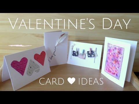 DIY  Easy Valentine's Day Cards | Creative Valentine Card Ideas for Boyfriend or Girlfriend