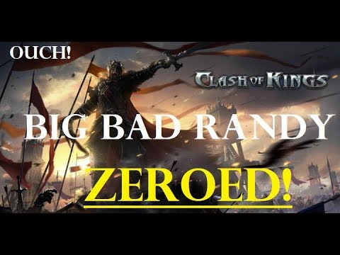 Clash of Kings The West - Big Bad Randy ZEROED! Reviewing the Huge Battle Reports!