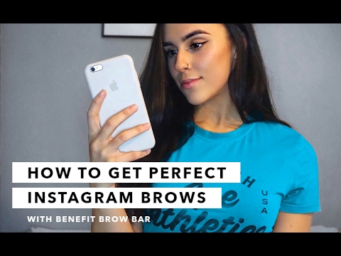 How to Get Perfect Instagram Brows at Benefit Brow Bar