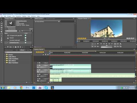 Adding and Removing Audio Tracks - Adobe Premiere Pro Tutorial