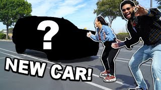 SUPRISING MY GIRLFRIEND WITH OUR DREAM FAMILY CAR!